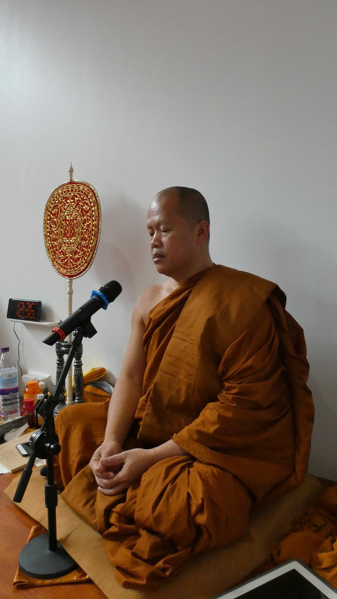 Visiting Teacher – Ajahn Aod (Phra Aod Boonyong) Monday 20th April 2020 – Postponed