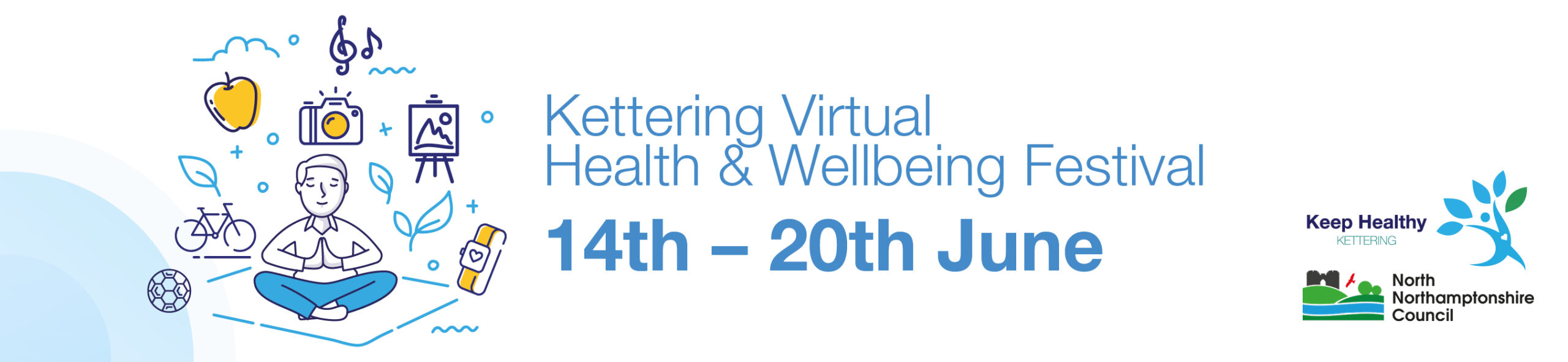 Read more about the article Kettering Virtual Health & Wellbeing Festival 14th – 20th June 2021